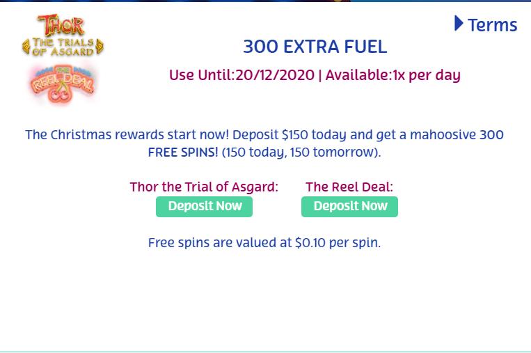 PlayOjo Bonus 300 Free spins