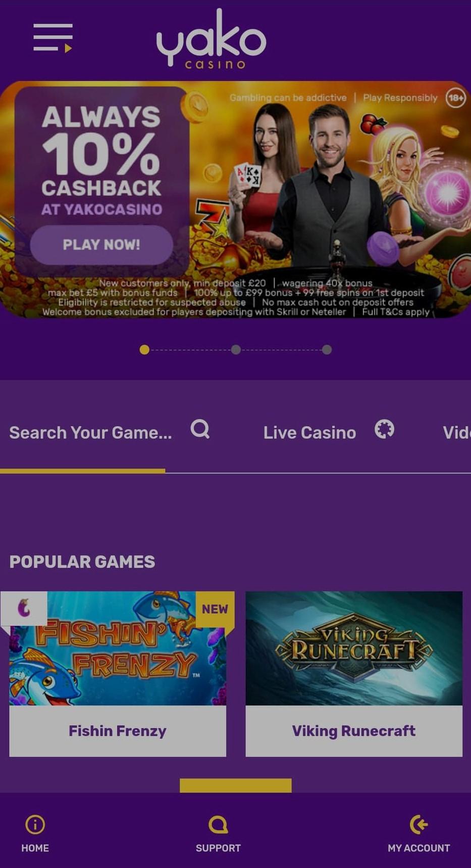 yako casino mobile